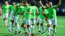 Abhazyalı futbolcular Dağlık Karabağ'ı beğendiler
