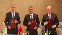 Türkiye-Azerbaycan-Gürcistan üçlü toplantısıyla ilgili protokol imzalandı