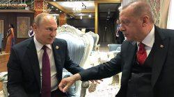 Erdoğan ve Putin'den mini zirve