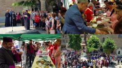 Gürcistan'da dolma festivali gerçekleştirildi