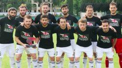 Gürcü futbolculardan Abhazya ve Güney Osetya göndermesi