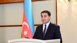 Hikmet Hacıyev: Ermenistan'ın topraklarımız üzerindeki işgaline son verilmeli