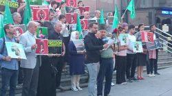 İstanbul'da Koçesoko'ya destek eylemi yapıldı