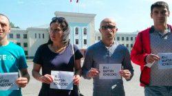 Kafkasya'da Koçesoko'ya destek eylemleri devam ediyor