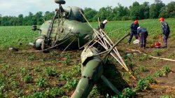 Krasnodar'da helikopter düştü