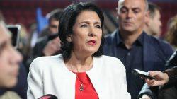 Zurabişvili: Müslüman vatandaşların bayramını kutlamak görevim