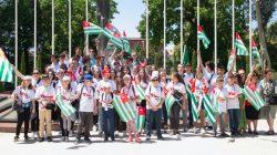 Abhaz asıllı çocuklar tatillerini Abhazya'da geçiriyor
