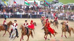 Azerbaycan'da yayla festivali coşkusu
