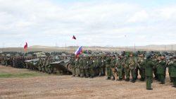 Ermenistan ve Rusya'dan ortak askeri tatbikat