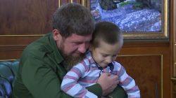 Kadirov yakın koruma ekibine çocukları dahil etti