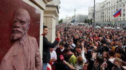 Yerel seçim öncesi Moskova'da protesto