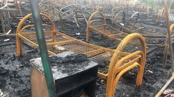 Rusya'da çocuk kampında yangın