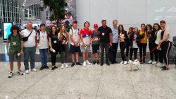 Türkiye'den Abhazya'ya yaz kampına gittiler