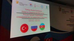 Ankara'da Türkiye-Rusya-Azerbaycan iş birliği forumu