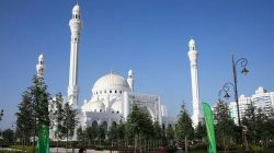 Çeçenya'da Hz. Muhammed Camii açıldı