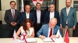 Kızılay Gürcistan'da afet müdahale merkezi kuracak