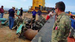 SAK timi Azeri pilotun naaşını arıyor