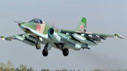 Budyonnovsk'ta Rus SU-25 savaş uçağı düştü