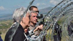 NATO Heyeti Gürcistan-Güney Osetya sınırında