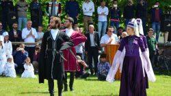 Simav'ın Kiçir köyünde düzenlenen 7. Çerkes Festivali sona erdi