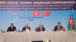Türk Konseyi üyesi ülkelerin istihbarat başkanları Bakü'de toplandı