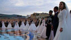 Dağıstan'daki düğünden iki Guinness rekoru