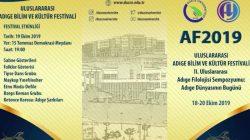2. Uluslararası Adıge Bilim ve Kültür Festivali başlıyor