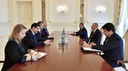 Milli Eğitim Bakanı Ziya Selçuk Azerbaycan'da