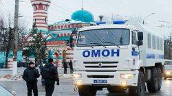 Dağıstan'daki Tangim Camii etrafında güvenlik kontrolleri arttırıldı