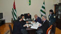 Çinli heyet Abhazya'yı ziyaret etti