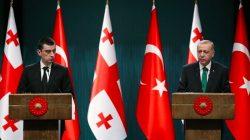 Cumhurbaşkanı Erdoğan Gürcistan Başbakanı Gakharia'yı kabul etti