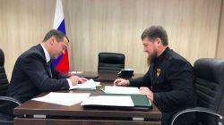 Kadirov ile Medvedev Kuzey Kafkasya'daki kontrol noktalarını görüştü