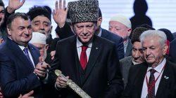 Cumhurbaşkanı Erdoğan Ahıskalıları ağırladı