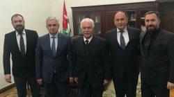 Vatan Partisi Abhazya'yı ziyaret etti
