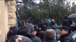 Abhazya Cumhurbaşkanlığı binasına işgal girişimi