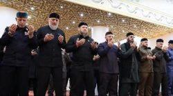 Kadirov'a özel Cuma namazı