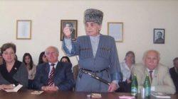 Kafkas Halkları Konfederasyonu Kurucu Başkanı Musa Şenibe vefat etti