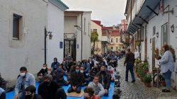 Tiflis Cuma Camisinde bayram namazı kılındı