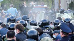 Kuzey Osetya'da karantina karşıtlarına hapis cezası