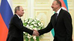Putin ve Aliyev Moskova'da buluştu