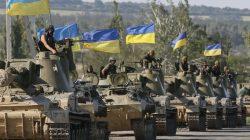 Ukrayna ordusu Gürcistan'a ulaştı