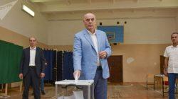 Rusya'daki seçimler için Abhazya'da sandık kuruldu