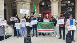 Çeçenya'daki seçimler protesto edildi