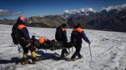 Elbrus Dağı'nda can pazarı