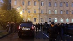 Abhazya'da olaylı kutlama