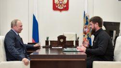 Putin'den Kadirov'a liyakat nişanı