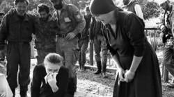 Abhazya'da savaş hatırası sergisi