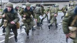 Abhazya ordusu kış tatbikatlarına başladı