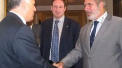 Cenevre görüşmeleri eş başkanları Çirikba ile görüştü