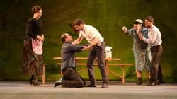 Abhazya Devlet Gençlik Tiyatrosu ilk kez sahne aldı